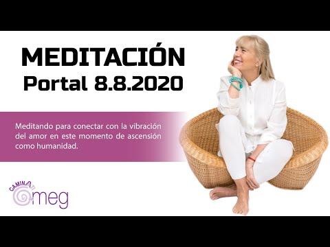 Meditación con MEG. Portal 8.8.2020